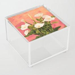Monterey Calla Lilies Acrylic Box