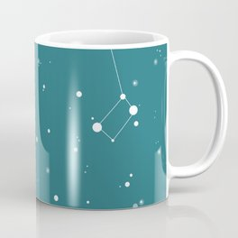 Emerald Night Sky Coffee Mug