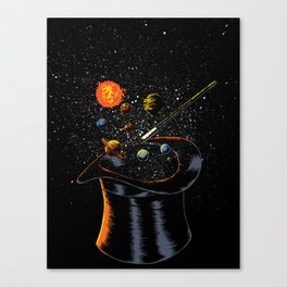 Origin Theory Canvas Print