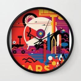 NASA Visions of the Future - Mars Tours Wall Clock