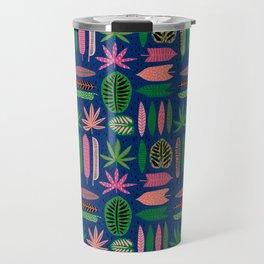 groovy tiki print Travel Mug