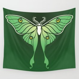 Luna Moth Wall Tapestry