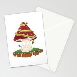 Mushroom Lucky Mushroom Shirt Gift Stationery Cards