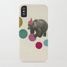 Birthday Bear Slim Case iPhone X