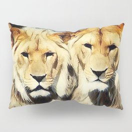 lion's harmoni Pillow Sham