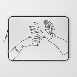 when you want to kiss, but not with anyone Laptop Sleeve