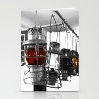 lanterns Stationery Cards featuring Lanterns by Raymond Earley