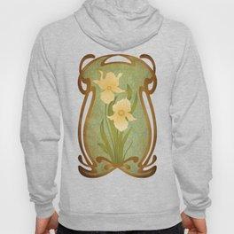 Art Nouveau Flowers Hoody