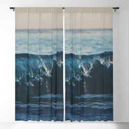 the wave ... Blackout Curtain