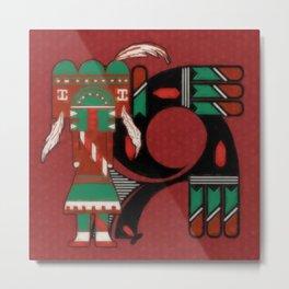 Visions Of Hopi Metal Print
