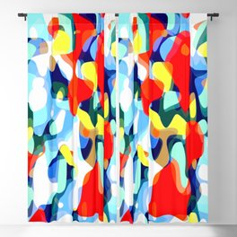 Abstract Avalanche Blackout Curtain