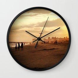 Coney Island Dreams Wall Clock