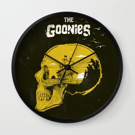 The Goonies art movie inspired Wall Clock