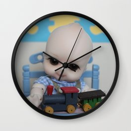 ** Little Boy's bedroom ** Wall Clock