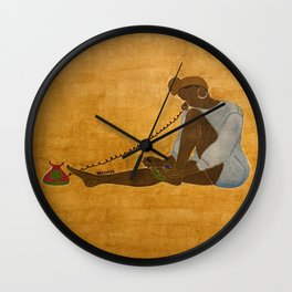 Self Care Wall Clock