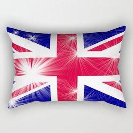 Union Jack Glamour Rectangular Pillow