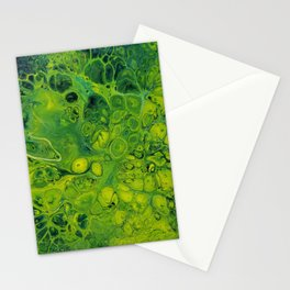 Lily Pad_Abstract Painting Stationery Cards