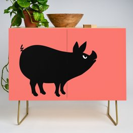 Angry Animals: Piggy Credenza