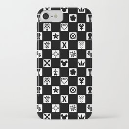 Kingdom Hearts Grid iPhone Case
