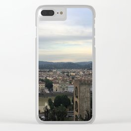 Overview of Florence Clear iPhone Case