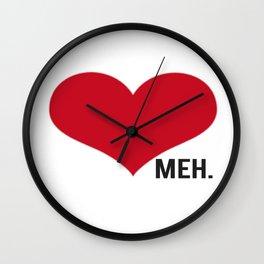 Side Meh. Wall Clock