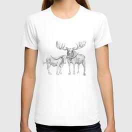 Longhorn and Moose T-shirt