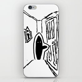 Shadow Person iPhone Skin