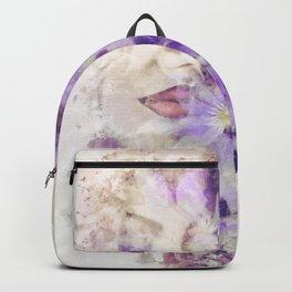 Purple Climbers Backpack
