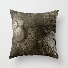 Too Much Time Throw Pillow