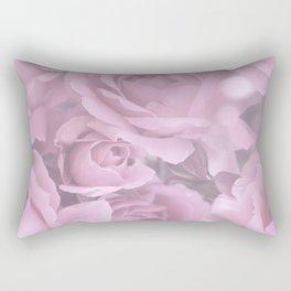 Pink Rose Bouquet Romantic Atmosphere #decor #society6 #buyart Rectangular Pillow