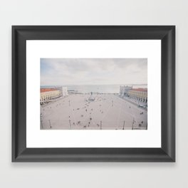Urban Silence Framed Art Print