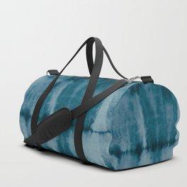 Tye Dye Denim Duffle Bag