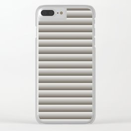Simple striped pattern. 2 Clear iPhone Case