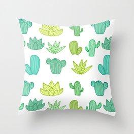 Walk through my Garden Throw Pillow