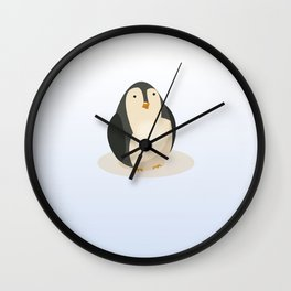 Antarctica Penguin Travel poster, Wall Clock