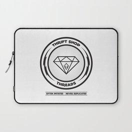 Thrift Shop Threads Button_Diamond Laptop Sleeve