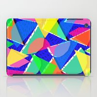 80s iPad Cases featuring 80s shapes by Sarah Bagshaw