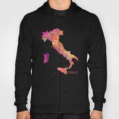 Italy map Hoody