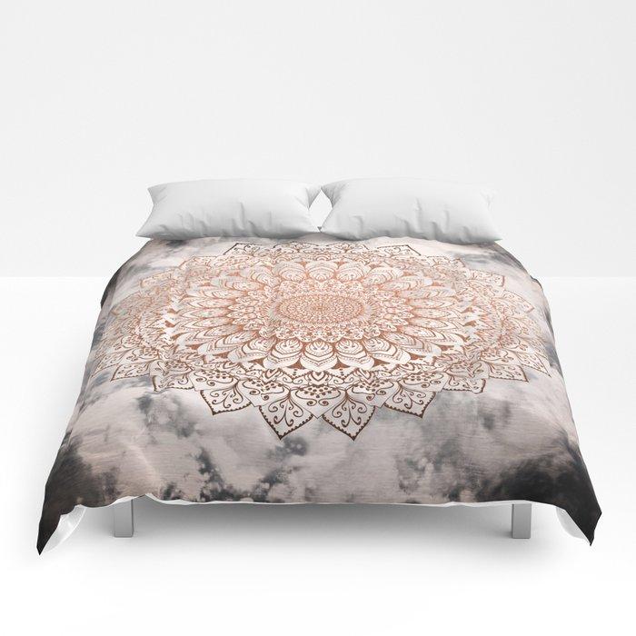 ROSE NIGHT MANDALA Comforters
