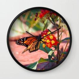 Monarch Beauty Wall Clock