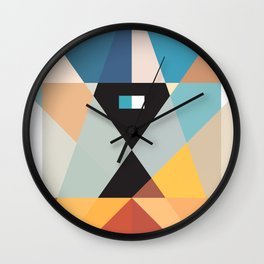 Deconstruct Ned Kelly Wall Clock