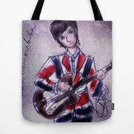 Pete Townshend -Mod era Tote Bag