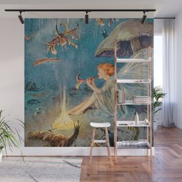 """The Enchantress"" by Margaret Tarrant Wall Mural"
