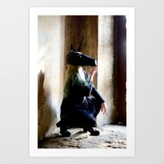 The Dark Unicorn Art Print