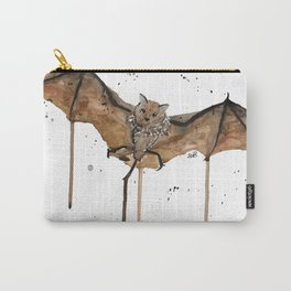 Flying Brown Bat Carry-All Pouch
