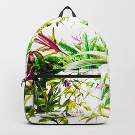 Exotic tropical jungle Backpack