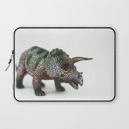 Fine Art Dinosaur Print: Triceratops Laptop Sleeve