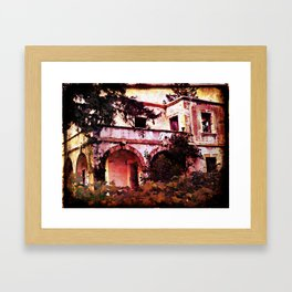 Abandoned House, Kyrenia, North Cyprus Framed Art Print