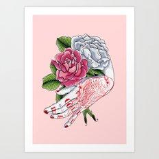 Cold Dead Art Print
