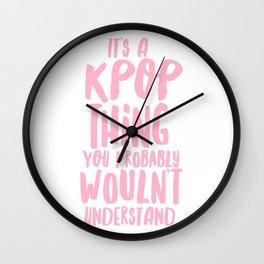KPOP THING Wall Clock